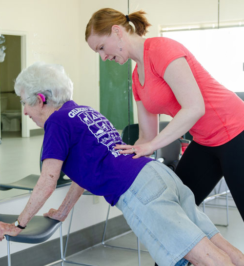 Physical Therapy, Mary Breckel